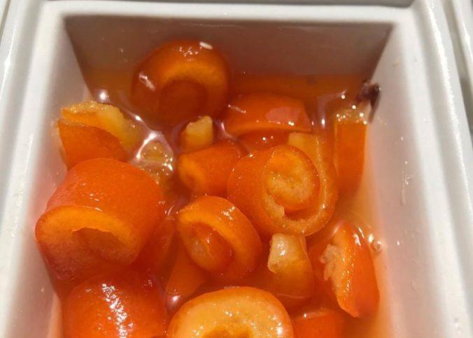 Rulo portakal kabuğu reçeli